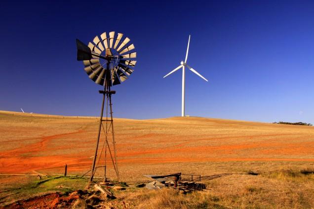Windmills near Burra SA