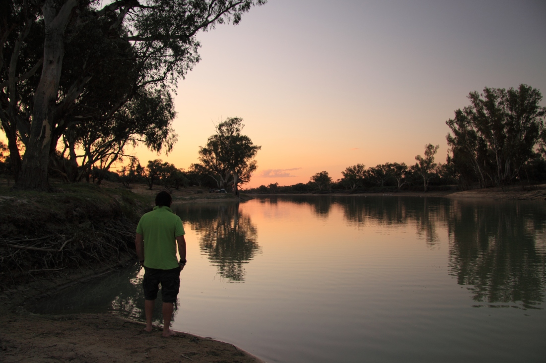 Dawn at Minkie Waterhole